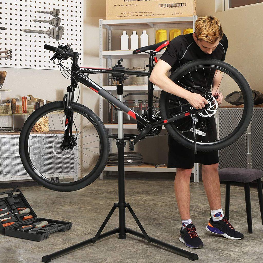 Pied d'atelier pour vélo Songmics