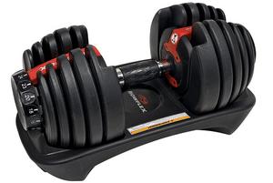 Test et avis sur l'haltère réglable Bowflex SelectTech 552i