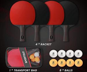Test et avis sur la raquette de ping pong Easy-Room