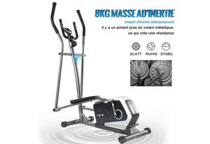 Test et avis sur le vélo elliptique ISE SY-9801