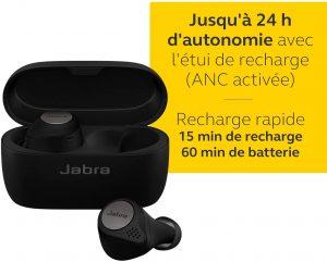 écouteurs de sport Jabra Elite Active 75t