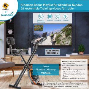 vélo d'appartement Skandika Foldaway X-1000