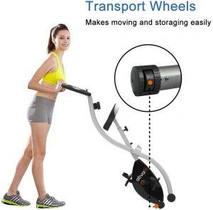 vélo d'appartement avec capteur de fréquence cardiaque Ativafit